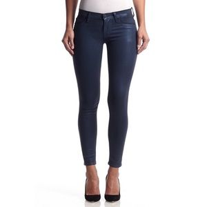 Hudson Krista Ankle Metallic Midnight Jeans